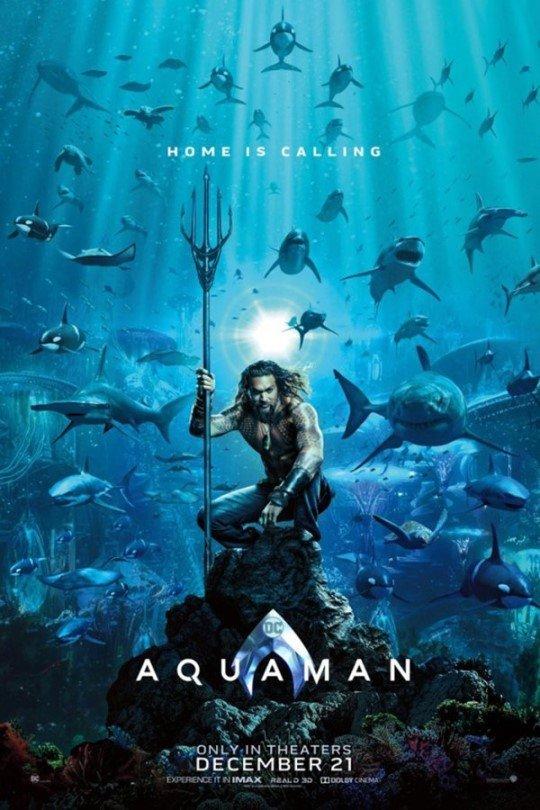 [DA:할리우드] DC '아쿠아맨', 中서 세계 최초 개봉