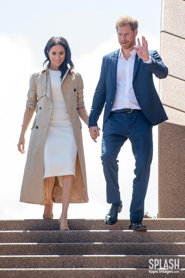 [DA:할리우드] 해리 왕자♥메건 마클, '임신 발표' 이후 공식 석상 등장