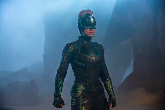 [DA:할리우드] '캡틴마블' 새 스틸컷 공개, MCU 첫 여성 히어로의 아우라