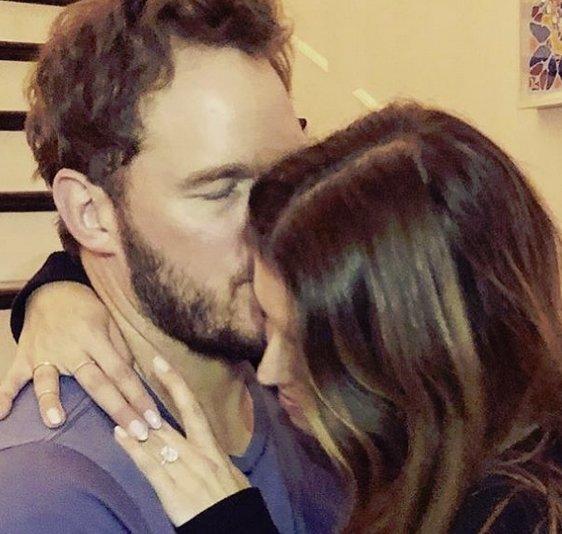 """[DA:할리우드] 크리스 프랫, 캐서린 슈왈제네거와 약혼 """"정말 행복해"""""""