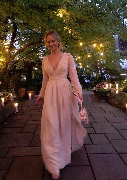 [DA:할리우드] 제니퍼 로렌스, 남자친구 쿡 마로니와 뉴욕서 약혼식