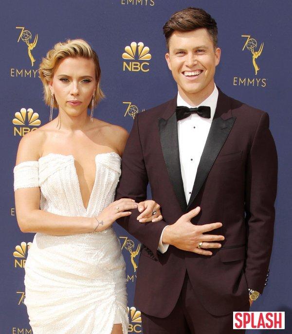 """[DA:할리우드] 스칼렛 요한슨♥콜린 조스트, 열애 2년만에 약혼 """"결혼날짜 미정"""""""