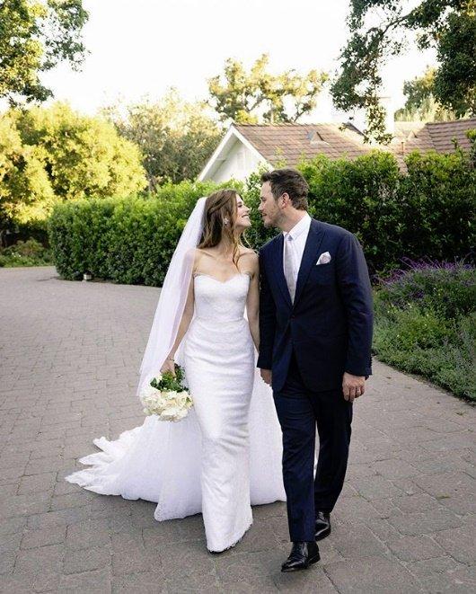 """[DA:할리우드] 크리스 프랫♥캐서린 슈왈제네거 결혼…""""부부됐다"""""""