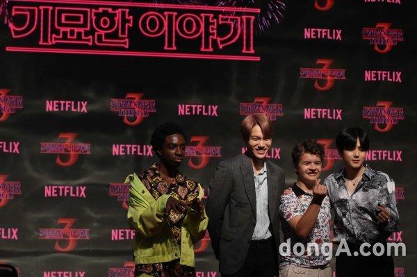 동아포토한국 찾은 '기묘한 이야기3'