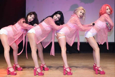 독보적인 섹시 걸그룹 '레이샤'