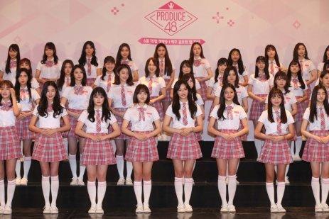 한일 합작 아이돌 프로젝트 '프로듀스48'