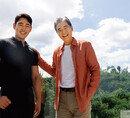 꽃미남 아버지와  근육질 아들의  베이커리 창업기, 정보석·정우주 부자