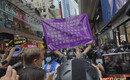 홍콩보안법 위반으로 15세 소녀 포함 7명 체포…200명 불법집회 붙잡혀