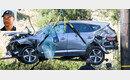 '140km 액셀'… 우즈 車전복사고 원인은 과속