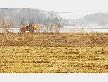 SK하이닉스 반도체 클러스터 대지로 거론되고 있는 경기 용인시 처인구 원삼면 죽능리 농가 풍경. [김도균]