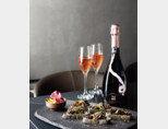 정통 샴페인 제조 방식으로 생산된 오미나라의 오미로제 스파클링 와인. [사진 제공 · 오미나라]