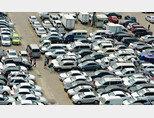 서울 성동구 장한평의 중고차 매매단지. 최근 젊은 세대가 차량 구매를 꺼리는 탓에 판매량이 지속적으로 감소하고 있다. [뉴스1]