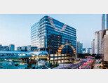 신한알파리츠가 보유한 부동산 자산 중 하나인 경기 성남시 분당구의 크래프톤타워(옛 알파돔타워). [사진 제공 ·신한알파리츠]