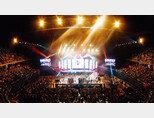 태국 방콕의 임팩트 아레나에서 열린 '케이콘 2019 태국' 콘서트. [사진 제공 · CJ ENM]