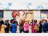 독일 베를린 '이스트사이드 갤러리'의 벽화 '형제의 키스'. [gettyimages]