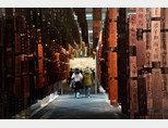지난해 12월 27일 중국 베이징 국립박물관에서 개최된 공자 전시회 [신화=뉴시스]