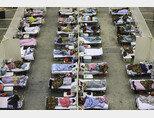 중국 후베이성 우한시의 코로나19 병동. [AP=뉴시스]