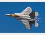 현존하는 최강의 공중지배 전투기인 F-22. [위키피디아]