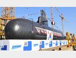 우리 해군의 최신예 3700t급 잠수함 도산 안창호급. [동아DB]
