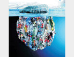 해마다 바다로 흘러들어가는 플라스틱 쓰레기양은 1100만t이다. [동아DB]