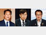 임종석 전 대통령비서실장, 김상조 전 청와대 정책실장, 더불어민주당 박주민 의원(왼쪽부터). [동아DB]