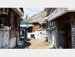 3월 29일 공공재개발 후보지로 선정된 서울 장위 9구역. [홍중식 기자]