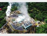 엘살바도르 국영 지열발전회사 라지오(La Geo)가 설계 중인 화산지열을 이용한 비트코인 채굴장 조감도. [라지오 트위터]