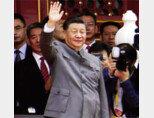 7월 1일 중국공산당 창당 100주년 기념식에 참석한 시진핑 국가주석. [뉴시스]