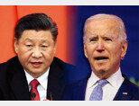 시진핑 중국 국가주석(왼쪽)과 조 바이든 미국 대통령. [AP 통신]