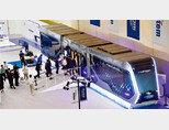 6월 2021 부산국제철도 기술산업전에서 선보인 현대로템 수소전기 트램. [사진 제공 · 현대로템]
