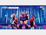 10월 12일 방송된 Mnet '스트릿 우먼 파이터' 7회에서 제시 신곡 'Cold Blooded'에 맞춰 안무를 선보이고 있는 댄스 크루 '홀리뱅'. [Mnet 캡처]