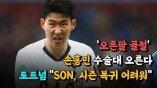 """'오른팔 골절' 손흥민 수술대 오른다....토트넘 """"SON, 시즌 복귀 어려워"""""""