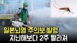 일본뇌염 주의보 발령…지난해보다 2주 빨라져