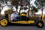 시속 30km 레고 자동차, 엔진까지 레고로…어떻게?