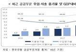 """""""공공부문 팽창 2011년 이후 가장 빨라…시장경제 위축"""""""