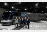 현대차, 수소전용 트럭 콘셉트카 '넵튠' 실물 공개