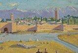 안젤리나 졸리가 소장했던 '처칠의 풍경화', 123억원에 팔려