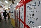서울 아파트 전세살이 6억 있어야 가능…전국 평균의 2배
