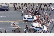 결국 우려했던 일이… 美경찰이 쏜 총에 시위대 1명 첫 사망