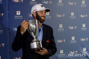 더스틴 존슨, PGA 트래블러스 챔피언십 우승…통산 21승 달성