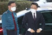 '주식거래' 수사받는 김진욱 공수처장, 경찰청 방문해 청장과 면담