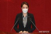 """고민정, 주호영 향해 """"文 부산 방문이 탄핵사유? 이성 찾아라"""""""