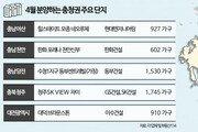 아산·천안·대전 4월 분양시장 '활짝'… 충청권 1만가구 물량 나온다