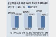 """""""레미콘 차량공급 12년째 동결… 제한 풀어달라"""""""