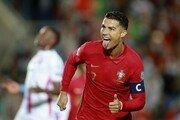 호날두 '해트트릭' 원맨쇼…포르투갈, 룩셈부르크에 5-0 승리