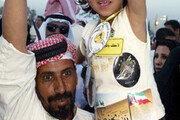 """""""이라크 해방 전쟁 지지합니다"""" 쿠웨이트 시민 2000여명 집회"""