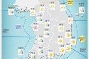 [오늘의 날씨]경남서부내륙 첫눈 관측, 주말 날씨는?