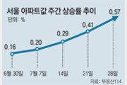 비수기에도 뛰는 아파트값… 서울 지난주 상승폭 올 최대