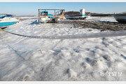 바닷물도 얼었다… 주말 내내 최강 한파