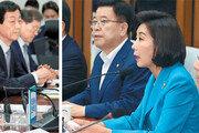 얼굴붉힌 靑-한국당… 국회정상화 멈칫
